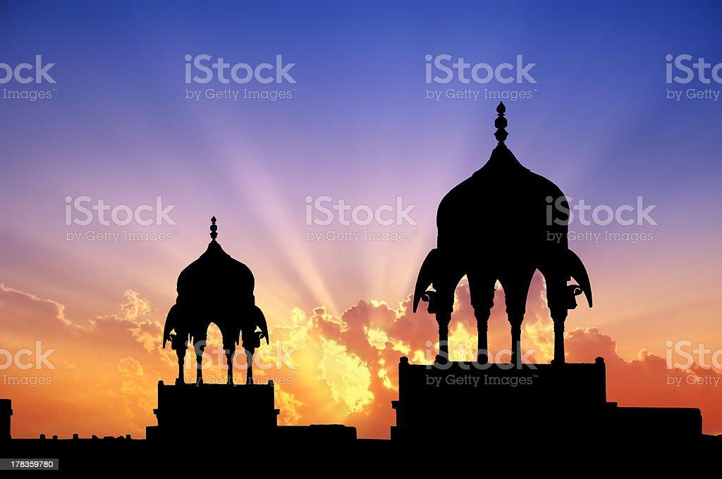 Bikaner pavilions - Royalty-free Architectural Column Stock Photo