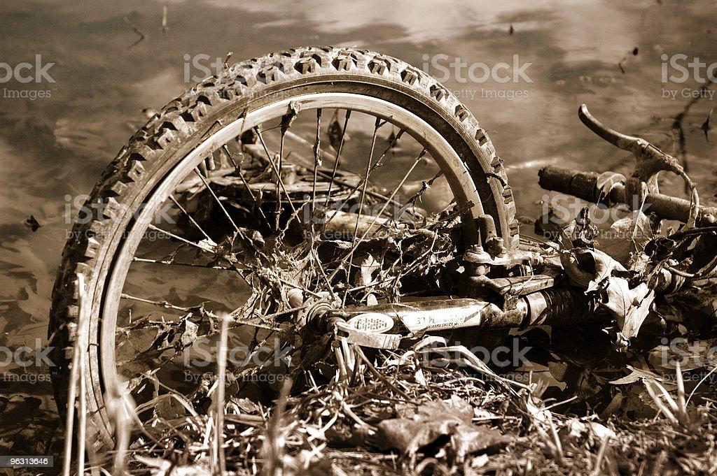 Bike Accident royalty-free stock photo