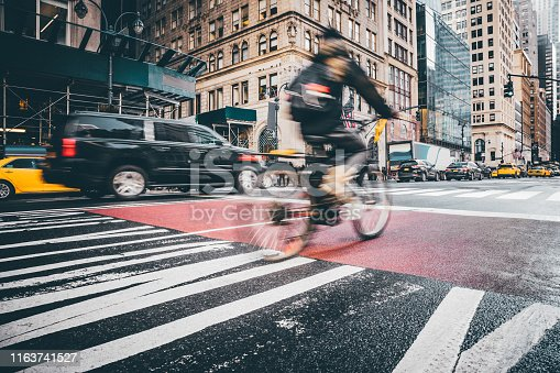 Bike and Traffic in New York City