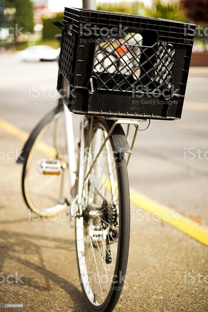 Bike Basket royalty-free stock photo
