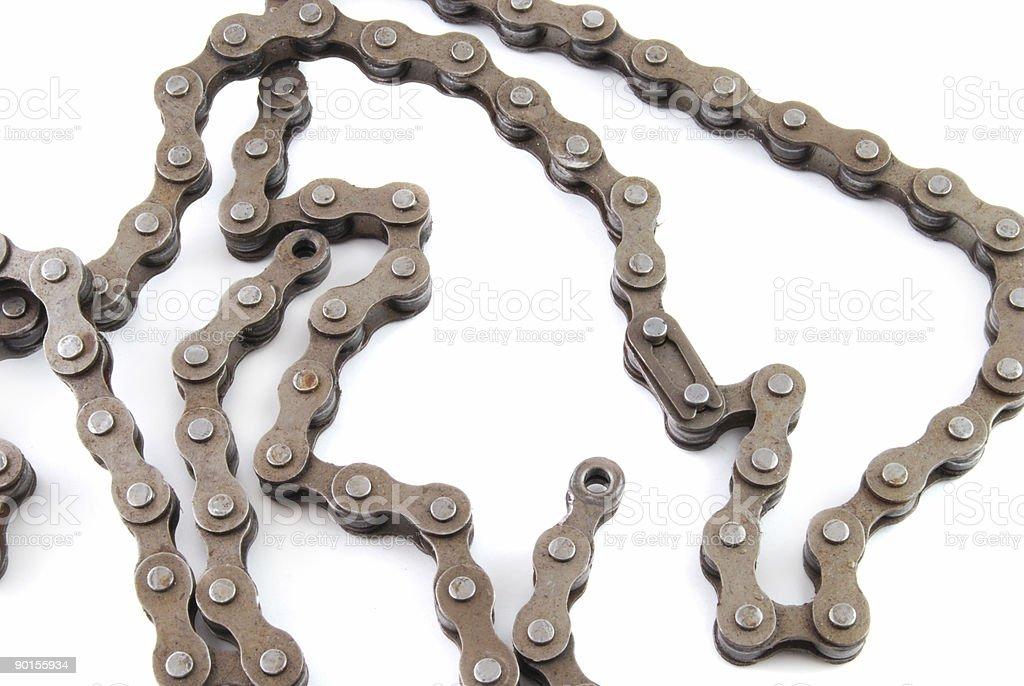 Bike Chain stock photo