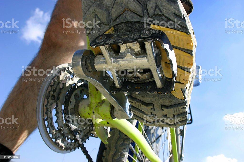 bike detail royalty-free stock photo