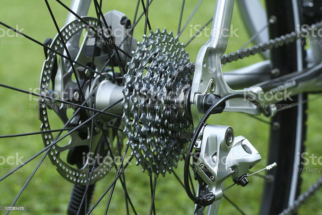 Bike details stock photo
