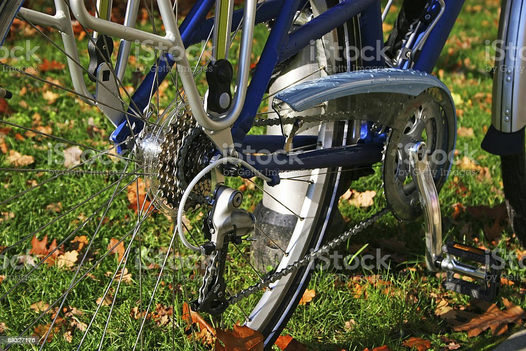 Bike details royalty-free stock photo