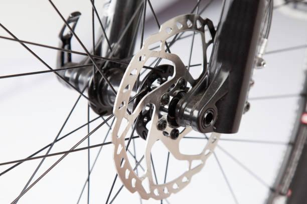 fahrrad disc break - stahlrahmen rennrad stock-fotos und bilder