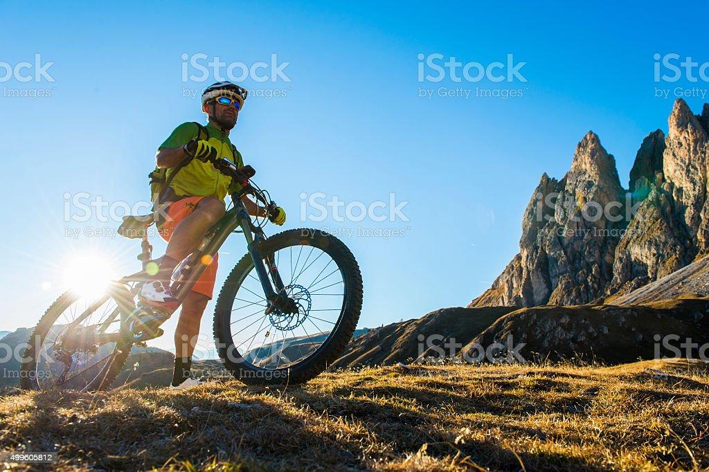 bike freak bietet die Berge – Foto