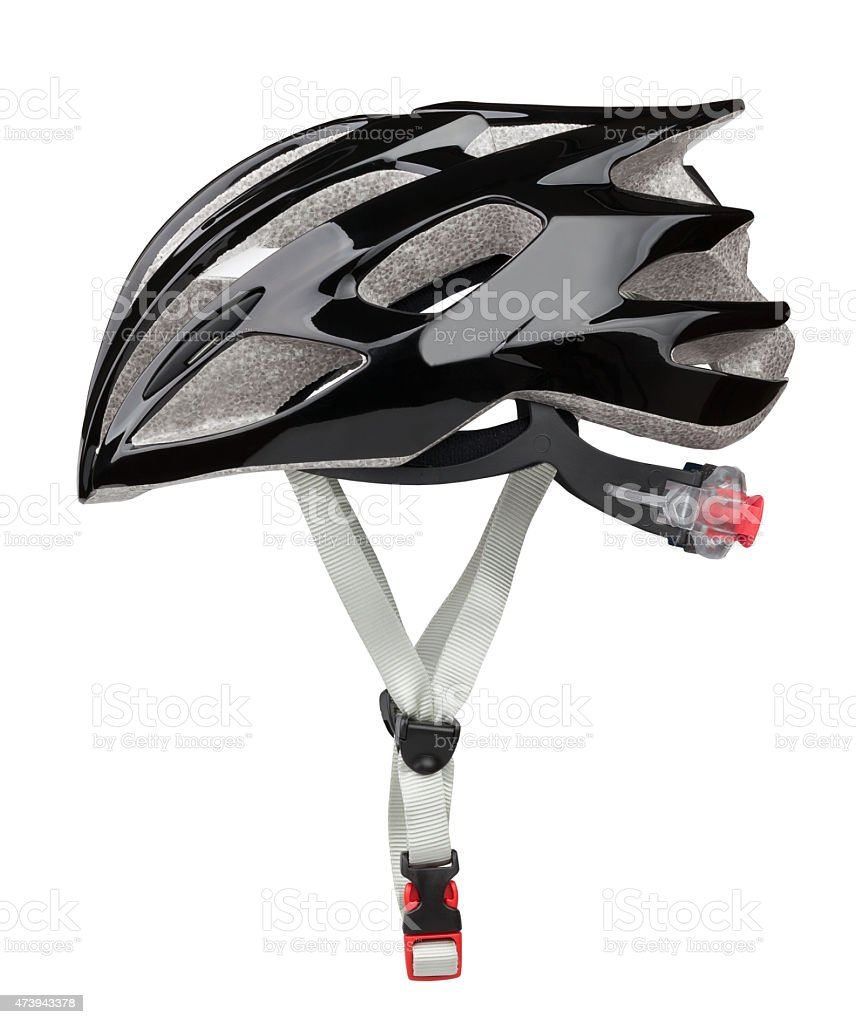 bike helmet stock photo
