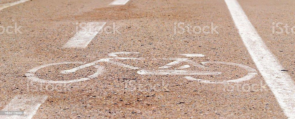 bike icon royalty-free stock photo