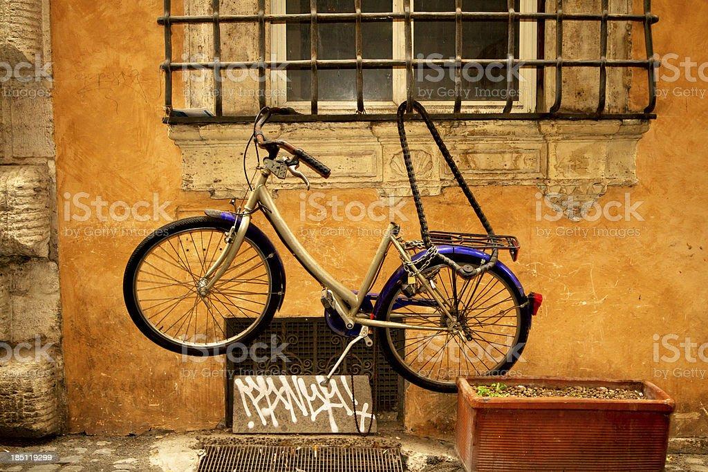 Bike in Italy royalty-free stock photo