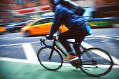 Bike in New York City