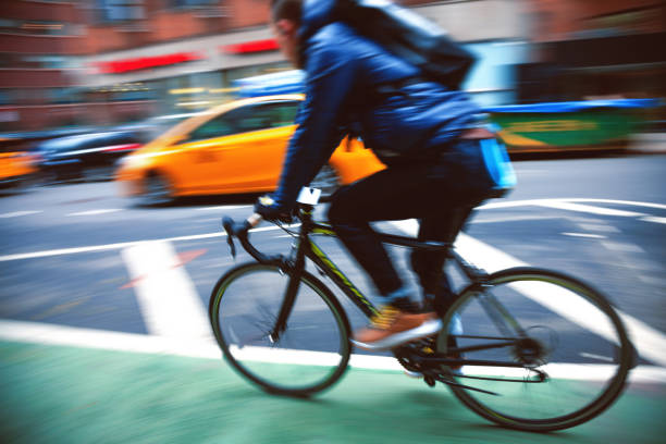 Fahrrad in New York City – Foto
