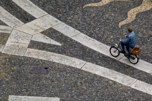 Fahrrad In Vigevano Stockfoto und mehr Bilder von Alt