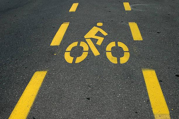 Fahrrad lane – Foto
