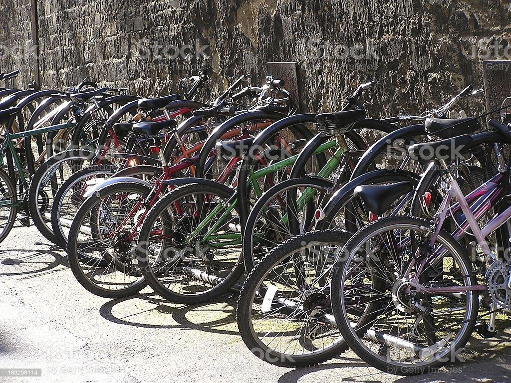 Bike park 2 stock photo