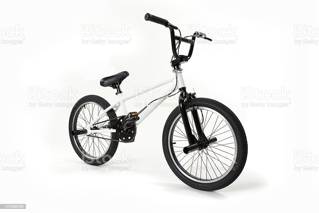 BMX bike royalty-free stock photo