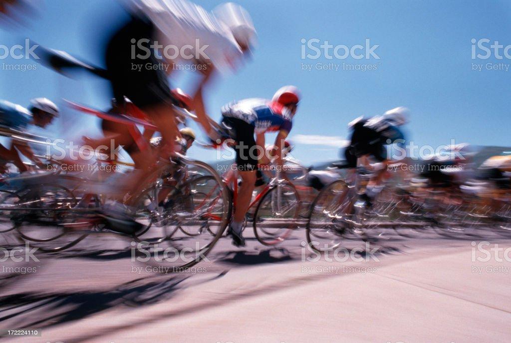 Bike race Pan #1 royalty-free stock photo