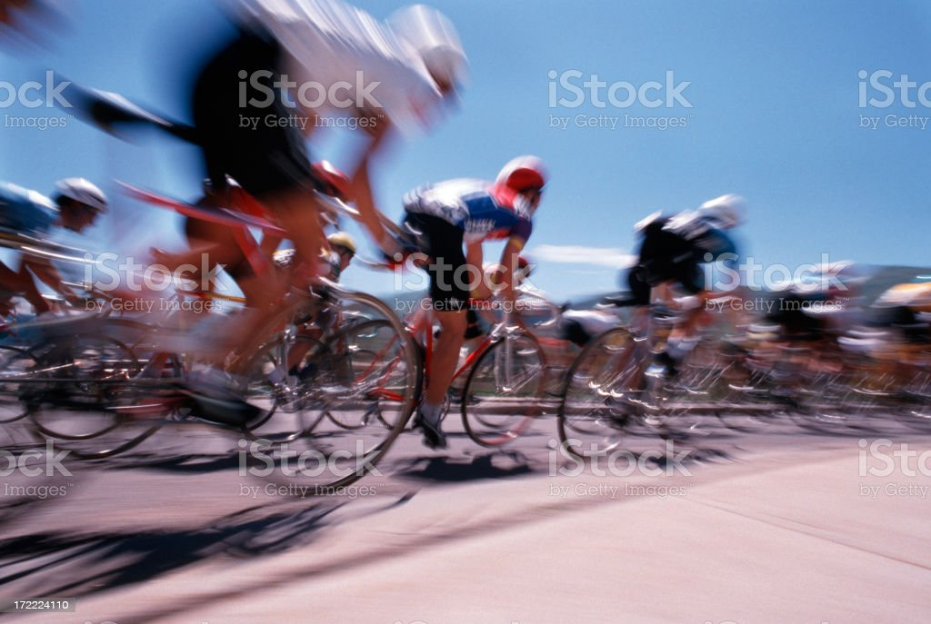 Bike race Pan #1 stock photo