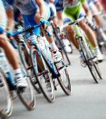 istock Bike Race 1309027163