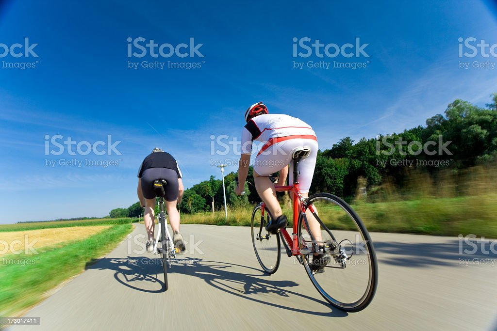 bike race royalty-free stock photo