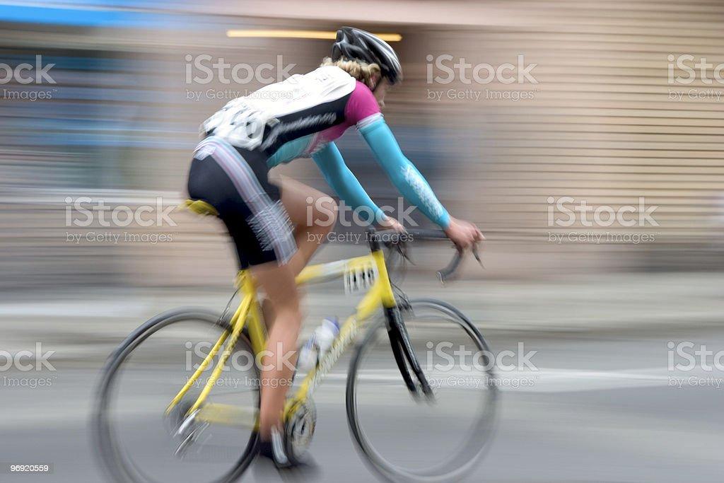 Bike Racer #4 royalty-free stock photo
