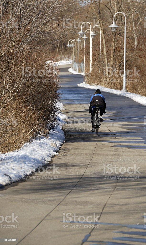 Gita in bicicletta foto stock royalty-free