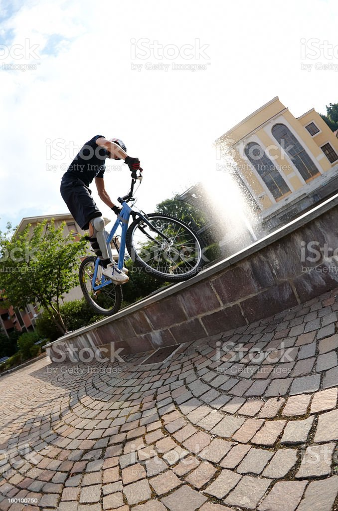 bike rider royalty-free stock photo