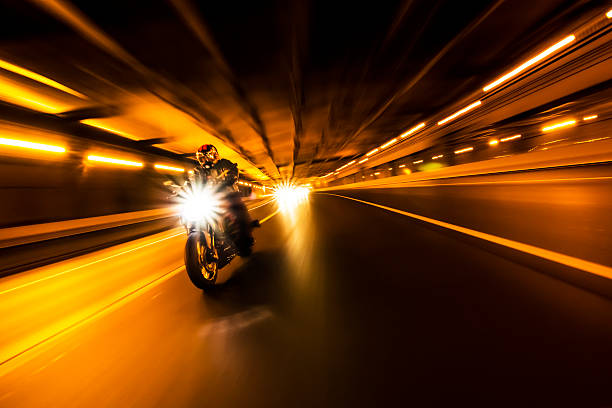 Bike rider stock photo