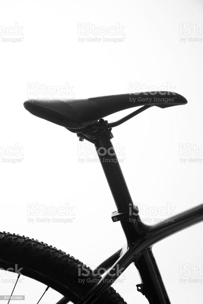 Bike seat stock photo