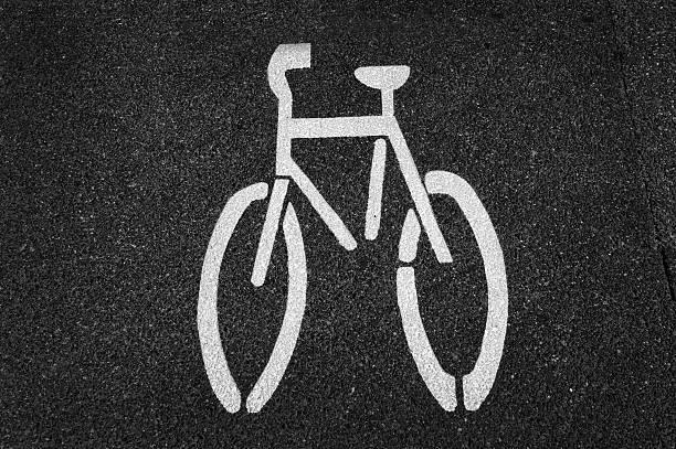 Fahrrad-Schild – Foto