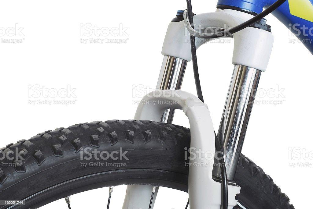 bike suspension royalty-free stock photo