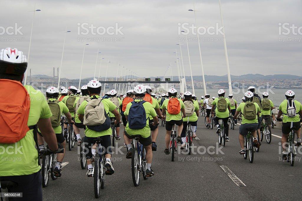 자전거 투어 royalty-free 스톡 사진