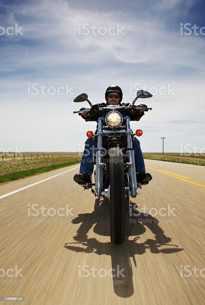 Bike travel stock photo