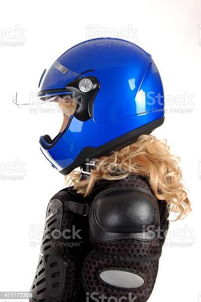 Biker Girl Stock Photo - Download Image Now