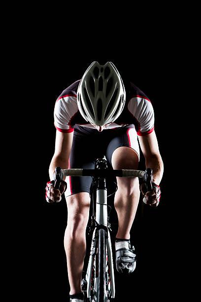 biker ii - wheel black background bildbanksfoton och bilder