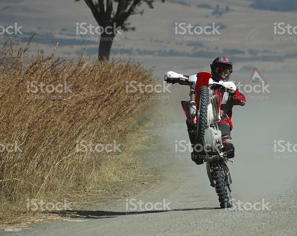 Biker royalty-free stock photo