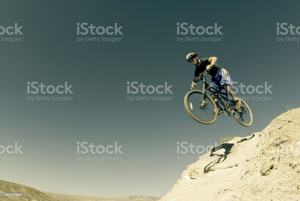 Biker Pride (crossprocess series) royalty-free stock photo