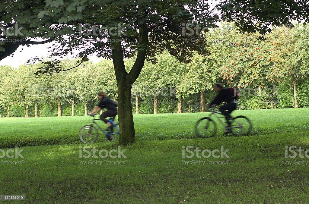 Bikers royalty-free stock photo