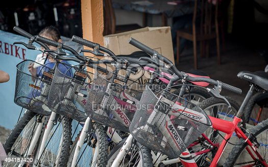 812812808 istock photo Bikes for rent 494187420