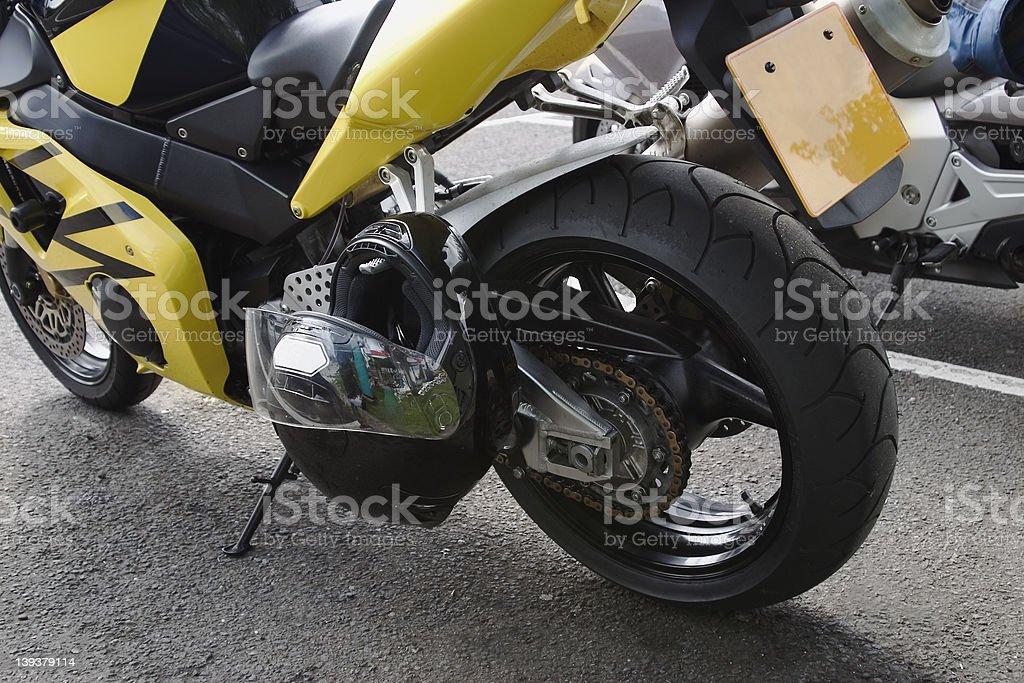 Bikes: Rest Stop stock photo