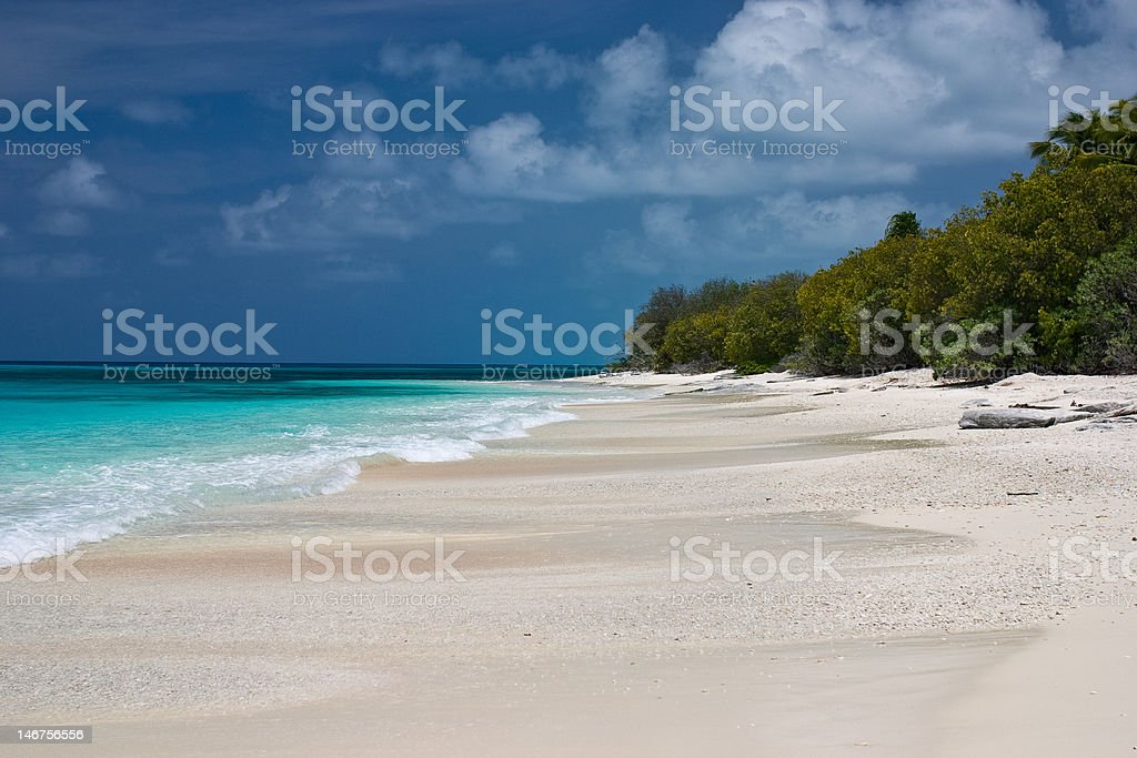 Bikini Atoll Beach stock photo