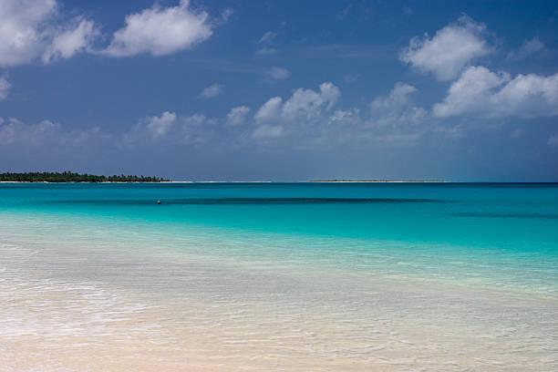 Bikini Atoll Lagoon stock photo