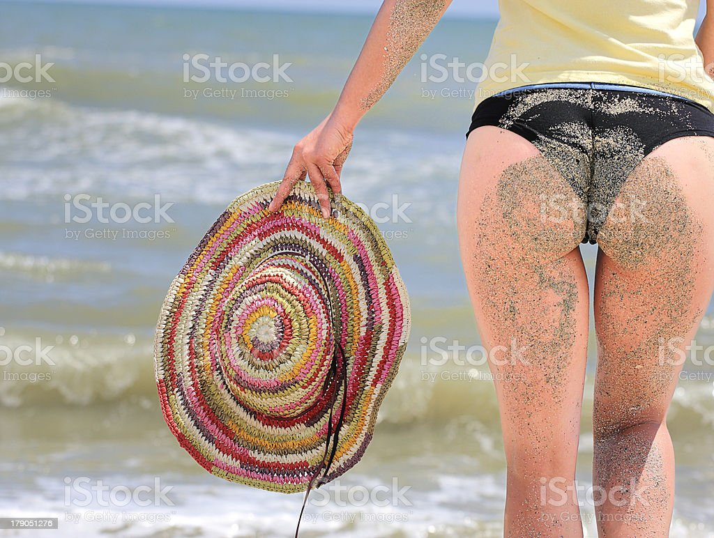 Bikini Beach royalty-free stock photo