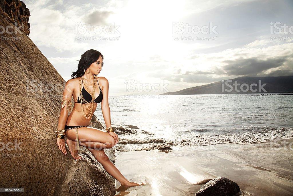Bikini Glamour royalty-free stock photo