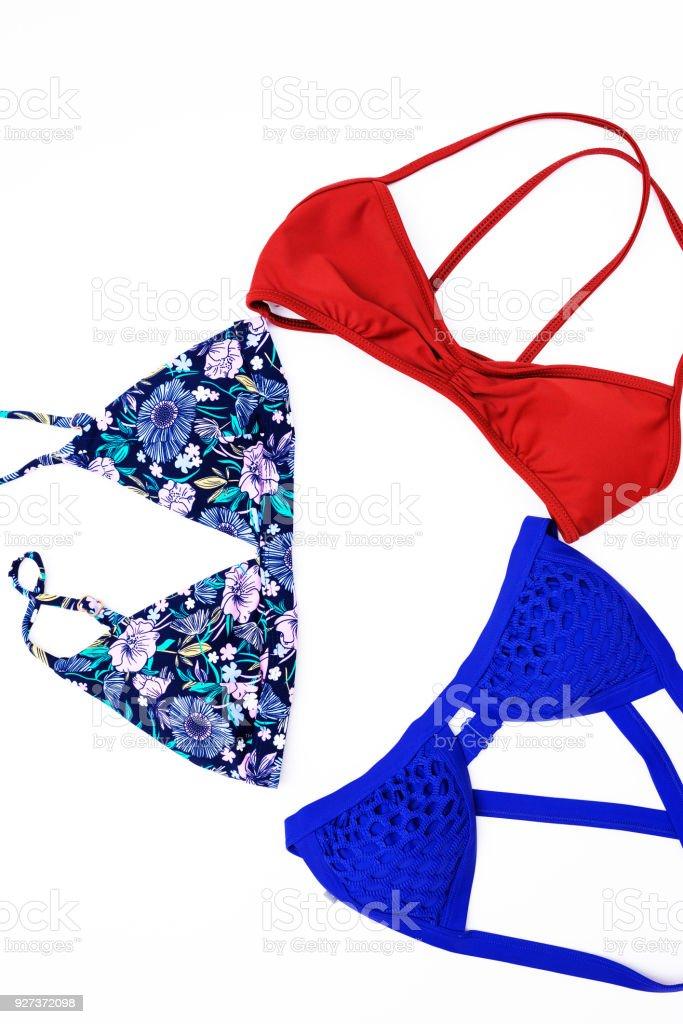 bikini on white background. - Royalty-free Beach Stock Photo