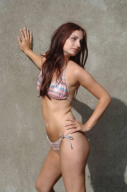 Bikini Supermodel stock photo