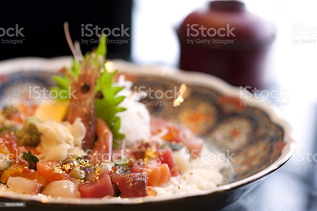Bikkuri Bara Chirashi royalty-free stock photo