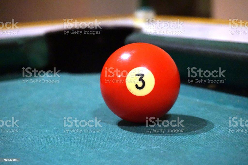 Bilard ball