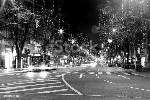 istock Bilbao Christmas lights, B&N 636989310
