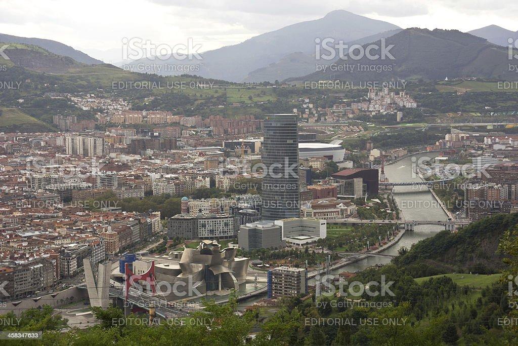 Bilbao royalty-free stock photo