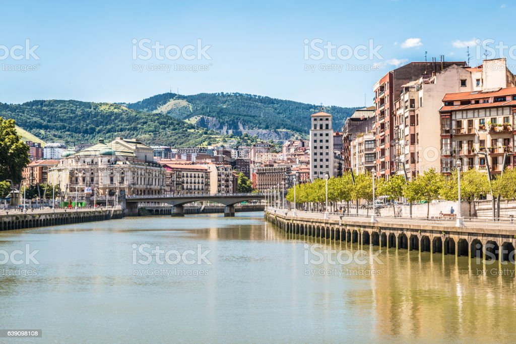 Bilbao Spain stock photo